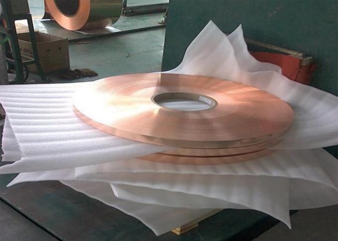 C1100 O Copper Foil Sheet High Conductivity With Conductivity 99 IACS