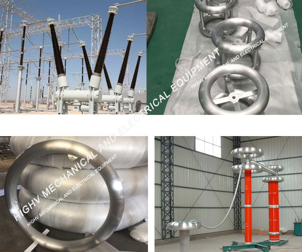 High Voltage Grading Ring Voltage Sharing For The Electrical Insulator