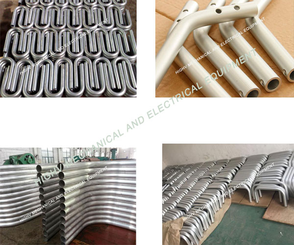 Machine Furniture Spare Part Bendable Aluminum Tubing Good Production Ability
