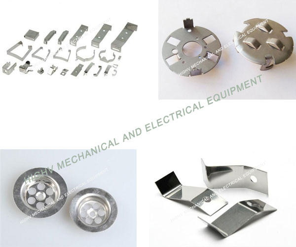 Round Shape Custom Metal Stamping Blanks , Stainless Steel 304 Stamped Metal Products