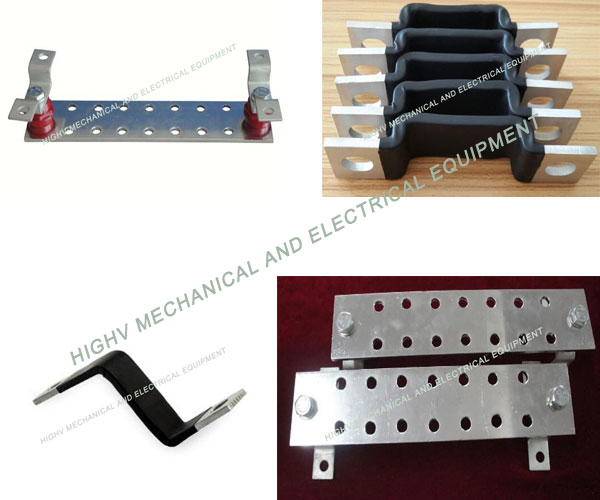 Electrical Substation Electrical Power Bus Bar , Durable Mini Bus Bar