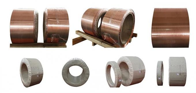C11000 Copper Foil Coil With Conductivity 99 IACS For Dry Type Transformer