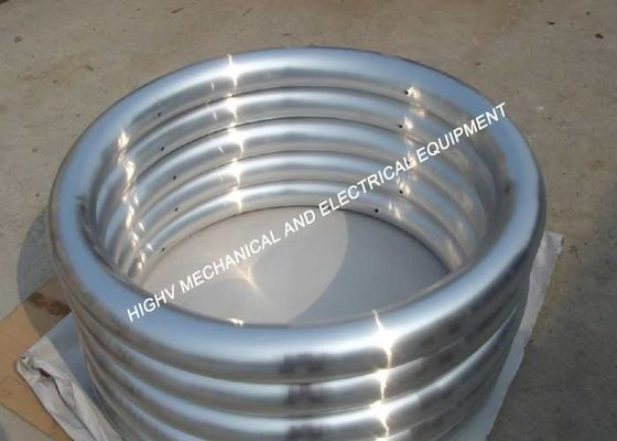 China 500kV Shielding Electric Range Parts , 4.0mm Thickness High Voltage Insulator Ring supplier