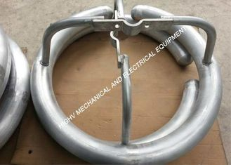 China Die Casting Aluminum Grading Ring With Hot - Dip Galvanization Surface Treatment supplier