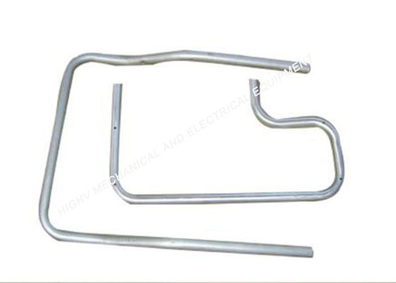 China Grade 6063 Round Bending Aluminium Tubing Aerospace Industry Components supplier