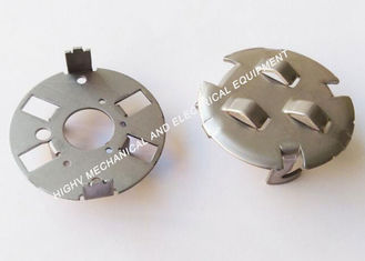 China Round Shape Custom Metal Stamping Blanks , Stainless Steel 304 Stamped Metal Products supplier