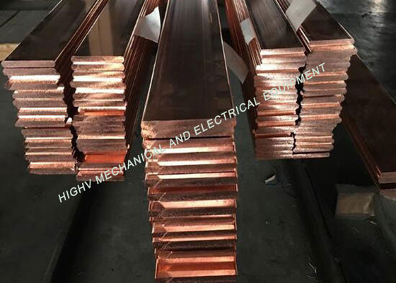 China Copper Electrical Bus Bar C10200 Copper Rod For Outdoor Distribution Box supplier