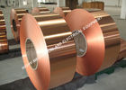 China 300mm Width Bronze Foil Roll , Round Edge Conductive Copper Foil Tape factory