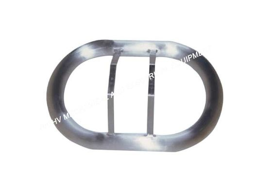 Aluminum High Voltage Corona Rings 6061 Grade Easy To Transport And Install
