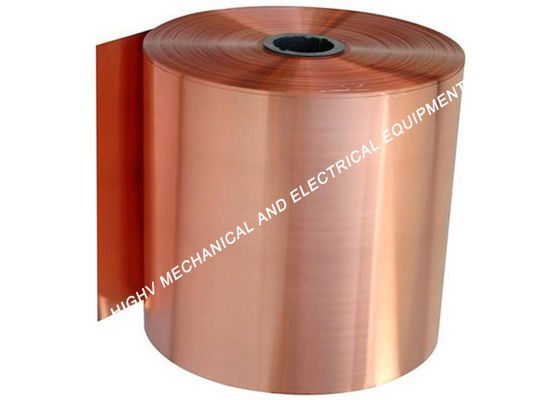ASTM Soft Roll Copper Foil Strip 1.3mm Thickness 8.9g/Cm³ Density