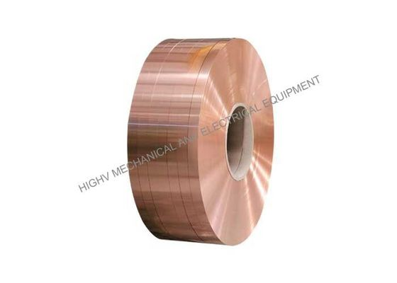 China C11000 Copper Foil Coil With Conductivity 99 IACS For Dry Type Transformer distributor
