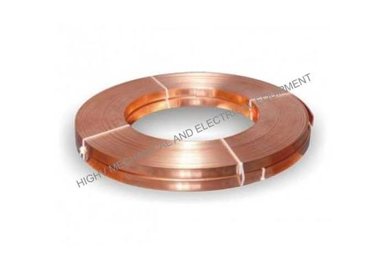 China 50mm Width Copper Alloy Strip , Thin Copper Foil For Reactor And Inductor distributor